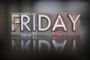 Friday Letterpress