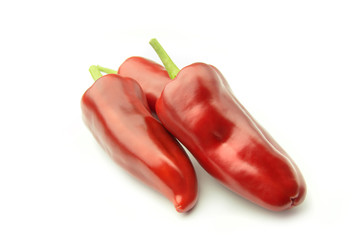 Wall Mural - Three Sweet Pepper - Clipping Path Inside