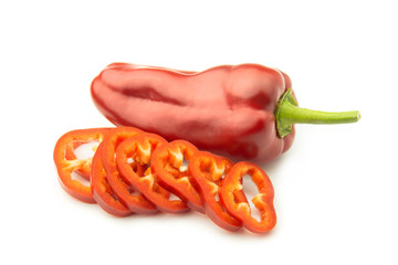 Wall Mural - Sliced Sweet Pepper