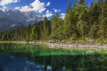 Bergsee in Österreich