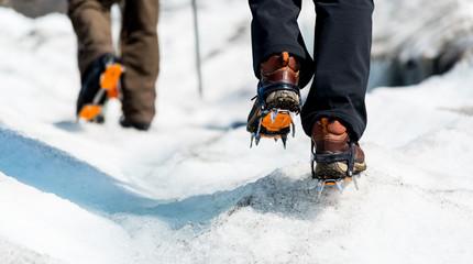 Canvas Prints Mountaineering Gletscher Wanderung