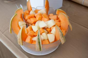 Macedonia di meloni