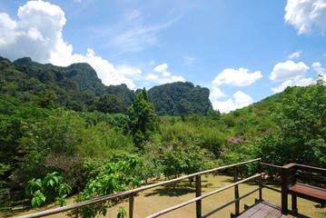 nature and landscape in thailand