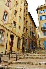 マルセイユの路地