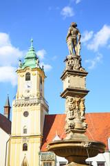 Wall Mural - Main square in Bratislava
