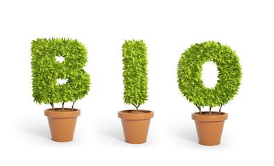 """Bio"" potted plants"