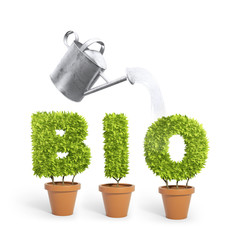 """Bio"" potted plants"