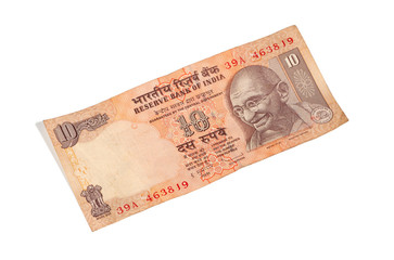India 10 rupee bill