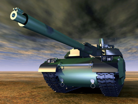 French Main Battle Tank