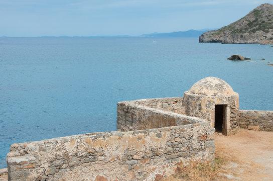 spinalonga island , crete