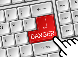 Tastatur Danger