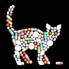 Tablets Pills Cat