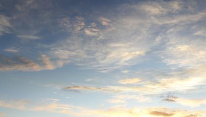 Keuken foto achterwand Hemel Sky