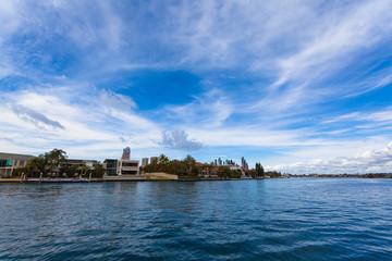 Australia's gold coast landscape