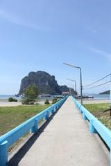 bridge on the seaside