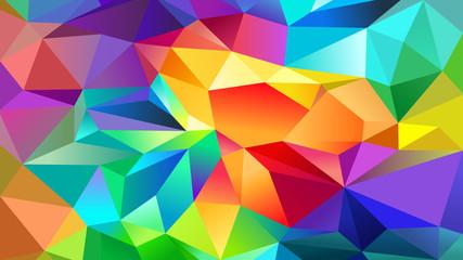 Facettes multicolores