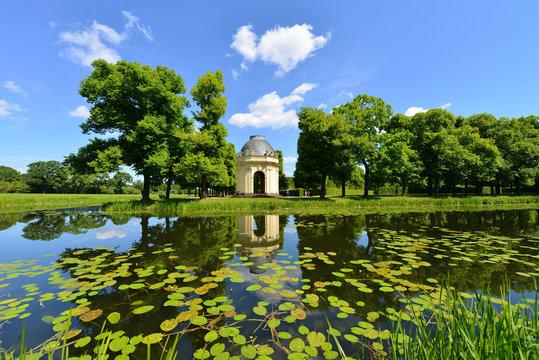 Herrenhäuser Gärten, Großer Garten, Pavillion, Graft, Hannover