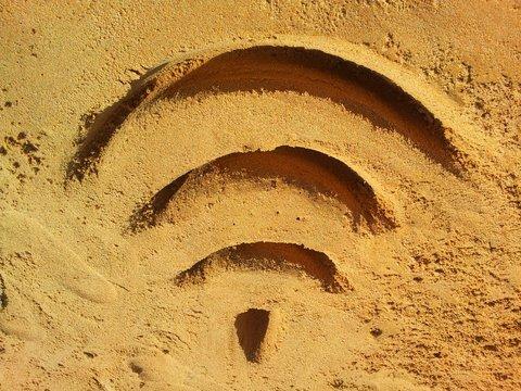 Wifi on the beach