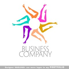 logo, foot, women,  vector, female, fashion