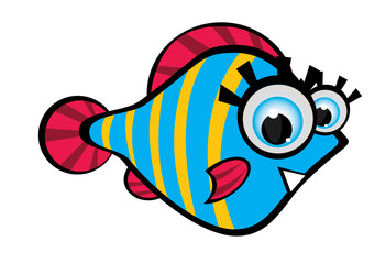 Znalezione obrazy dla zapytania: rybki rysunek