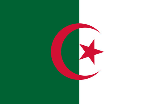 National flag of Algeria