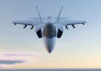 Jet F-35 aereo caccia militare Wall mural