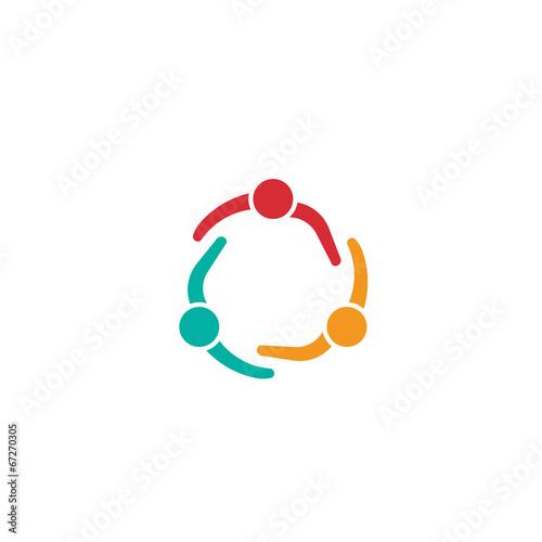 Team Meeting 3 Design Icon