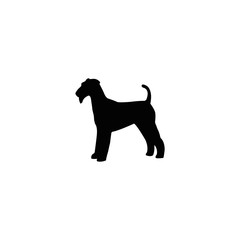 dog silhouette symbol