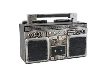 A retro tape recorder