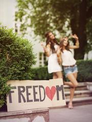 Freedom of girls in summertime