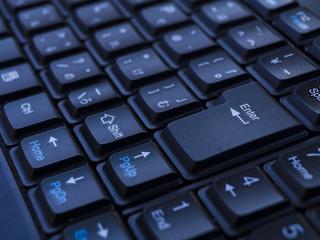 暗いキーボード