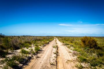 Strasse Track Outback Wüste Wildnis