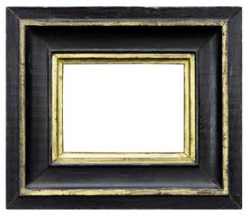 Eleganter und schicker Bilderrahmen in schwarz Querformat