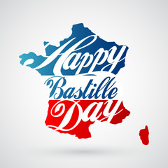 14th July Bastille Day background