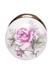 vintage rose door knob