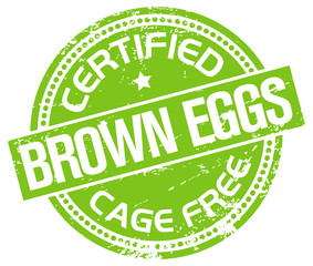cage free eggs stamp