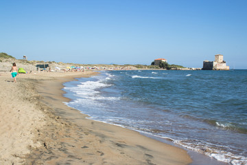 torre Astura beach