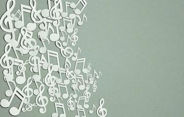 Musicsheet background