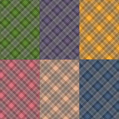 6 Box Seamless Pattern 4 Color