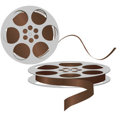 Old magnetic tape