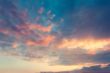 Aluminium Prints Heaven cloud