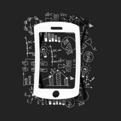 Drawing business formulas: mobile