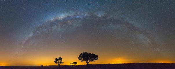 Aluminium Prints Africa The Full Milky Way