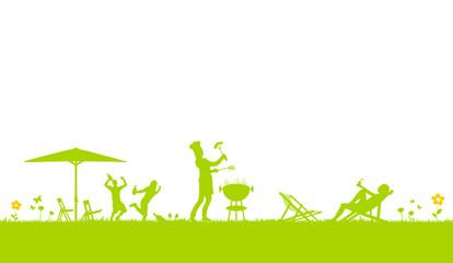 gartenparty einladung hintergrund – greengrill, Garten und Bauten