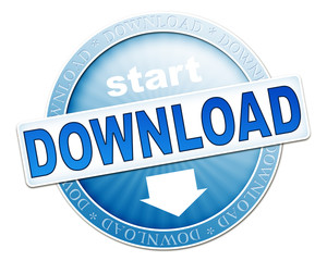download button blue