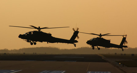 Apaches during Sunset