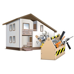 Vector Toolbox and House