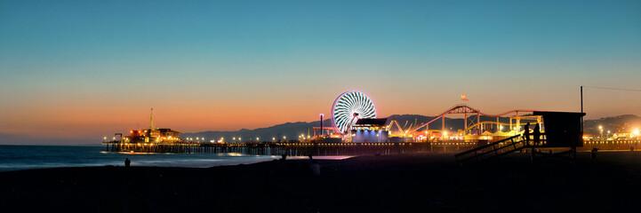 Fototapete - Santa Monica beach