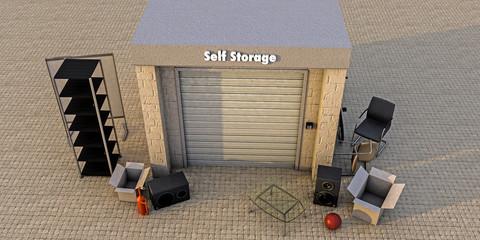 modern self storage