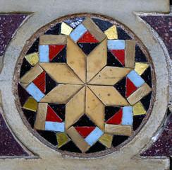 Mosaïques d'une décoration orientale